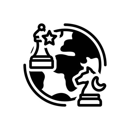 Icon for geopolitics,chess