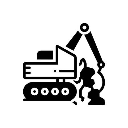 Icon for geotechnics,geotechnical