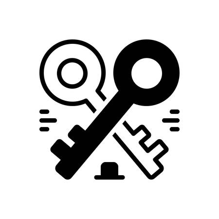 Icon for housekeys,keys Ilustrace