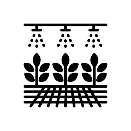 Icon for hydroponic,organic