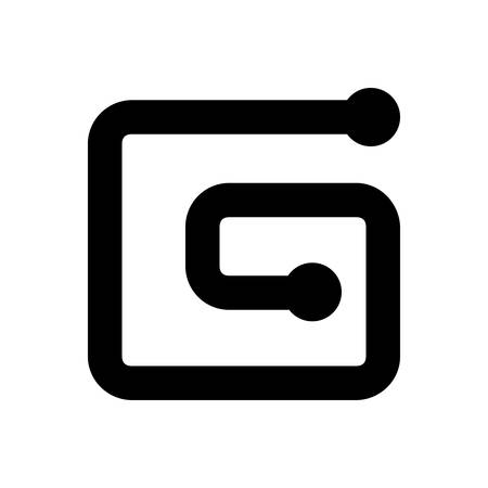 Icon for symbol,sell  イラスト・ベクター素材