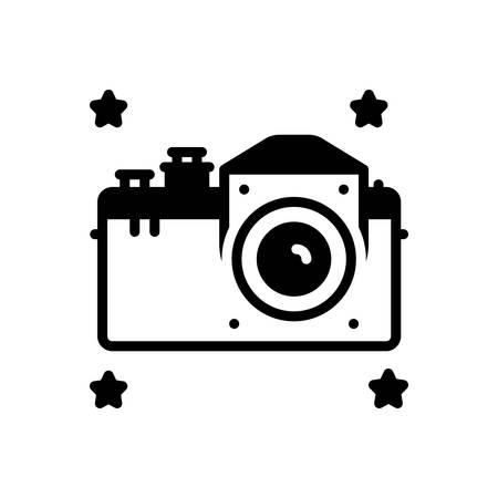 Icon for camera  イラスト・ベクター素材