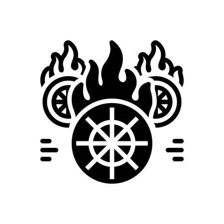 Icon for hotwheels,fire