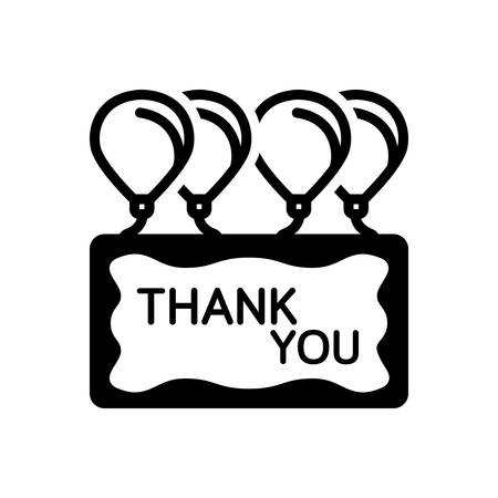 Icon for thank you,calligraphy Stock fotó - 138292272