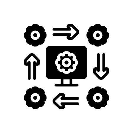 Icon for workflow,software