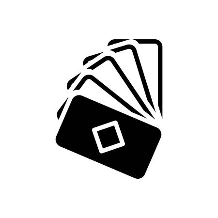 Icon for cards,game  イラスト・ベクター素材