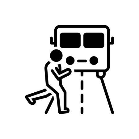Icon for impediment Illustration