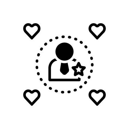 Icon for influencers,impressive 向量圖像