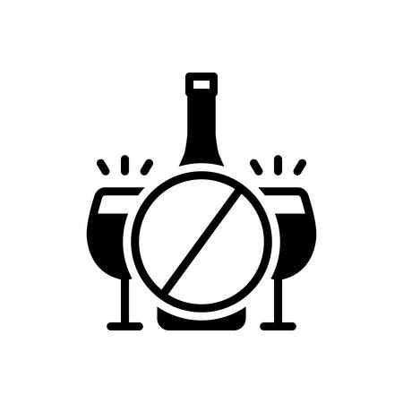 Icon for inhibition,prohibition