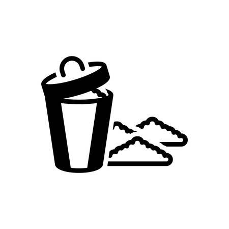 Icon for garbage,rubbish Illustration