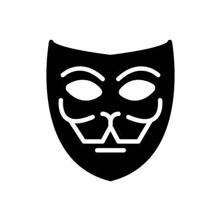 Icon for mask,facade