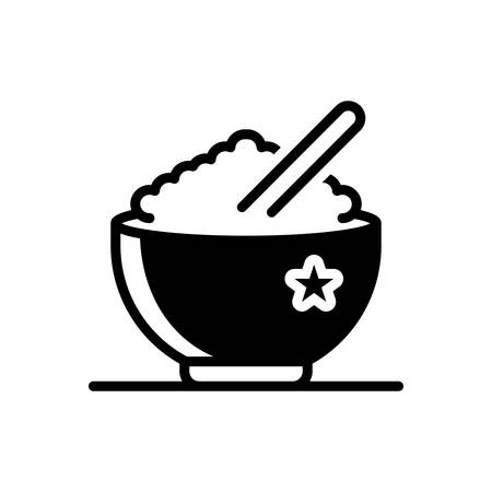 Icon for rice,food,bowl