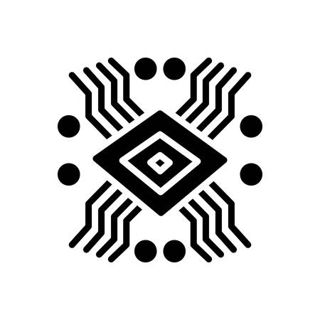 Icon for technology, electronic