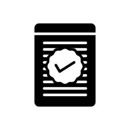 Icon for checked ,checklist