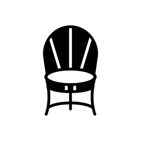 Icon for chair ,comfortable