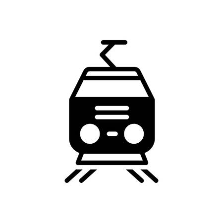 Icon for tram,cable