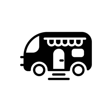 Icon for caravan,van