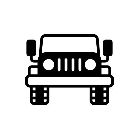 Icon for jeep,automobile
