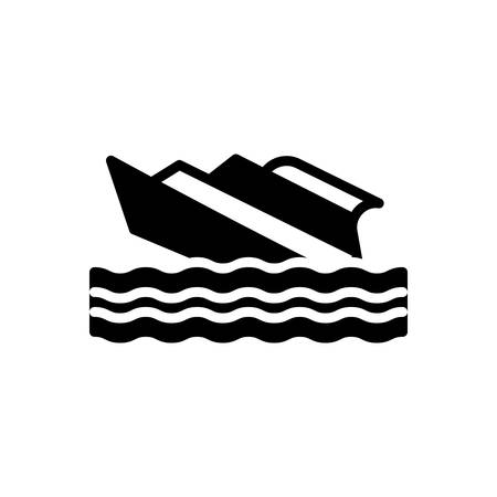 Icon for shipwreck,capsized