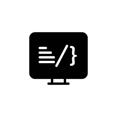 Icon for coding,software