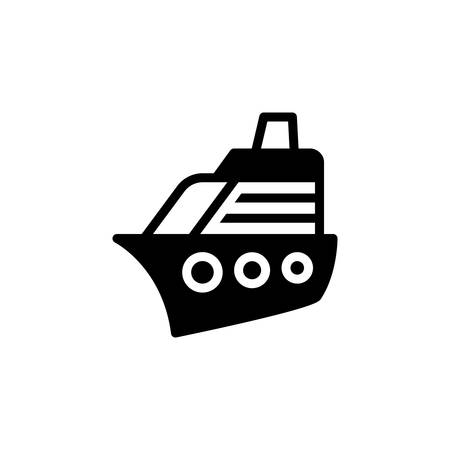 Icon for yacht,cruise