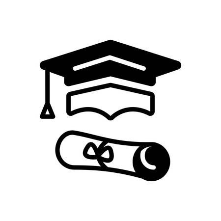Icon for graduation,education