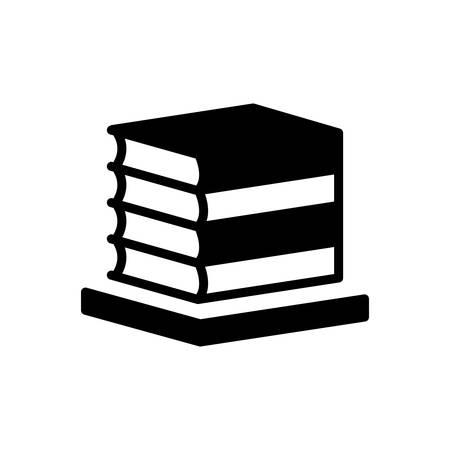 Icon for books,bibliography Foto de archivo - 139087916