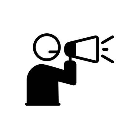 Icon for announcement,megaphone