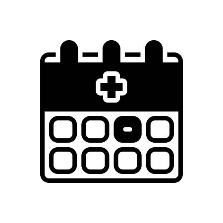 Icon for appointment,medical