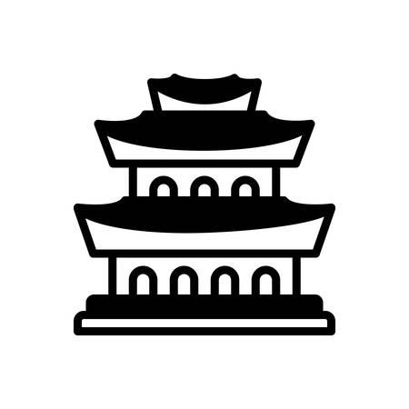 Icon for china,chinatown Foto de archivo - 139474920