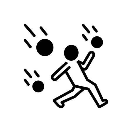 Icon for outlast Stock Illustratie