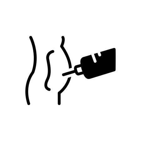 Icon for paracentesis ,abdominal 向量圖像