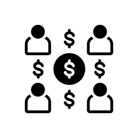 Icon for employee costs,expenses