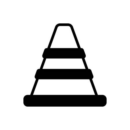 Icon for traffic cone, safety