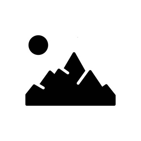 Icon for mountain,mountainview