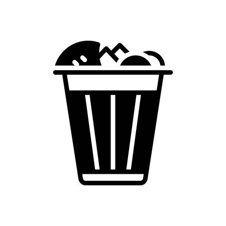 Icon for garbage,bin