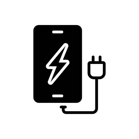 Icon for phone charging,phone,charging
