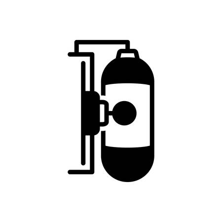 Icon for gas tank, energy