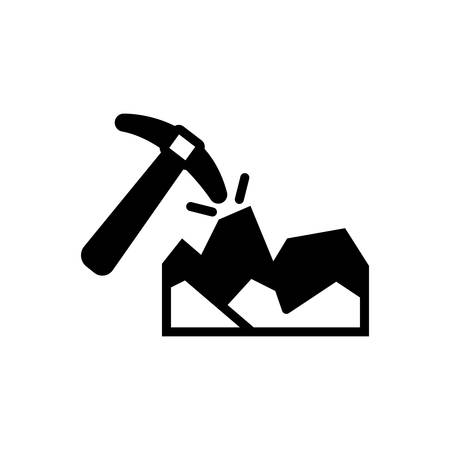 Icon for mining ,equipment