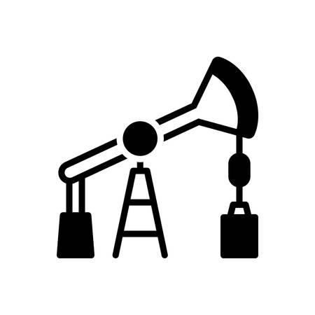 Icon for oil pump,derrick Vecteurs