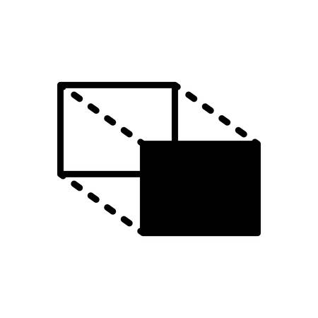 Icon for proportions,magnitude Иллюстрация