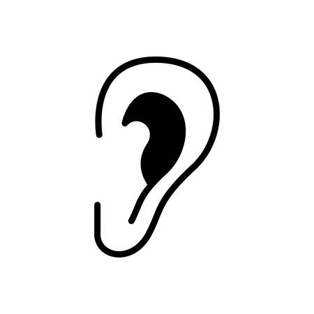 Icon for ear,listen