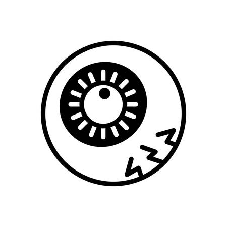 Icon for eyeball,eyesight