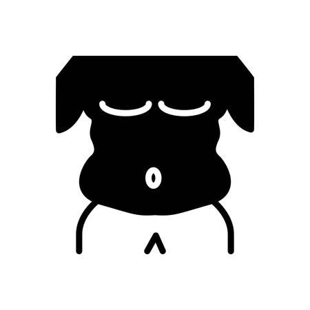 Icon for fat,body,figure Ilustração