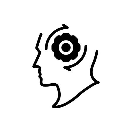 Icon for strategy change,strategy Illusztráció