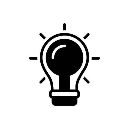 Icon for find a solution,idea,creative
