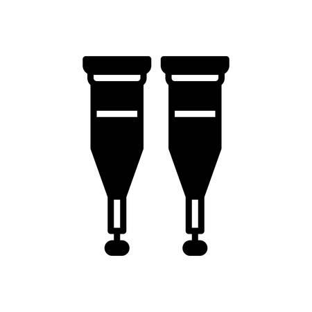 Icon for crutches,equipment Ilustrace