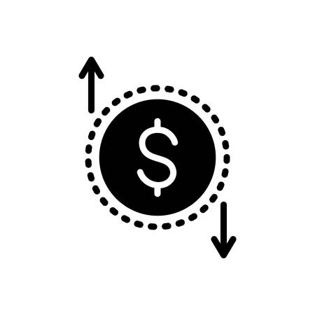 Icon for currency value,investment,financial