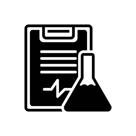 Icon for experiment results,feedback Иллюстрация