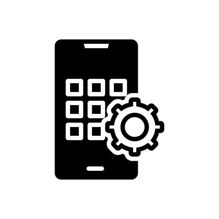 Icon for apps develop, smartphone